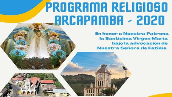 PROGRAMA RELIGIOSO ARCAPAMBA 2020